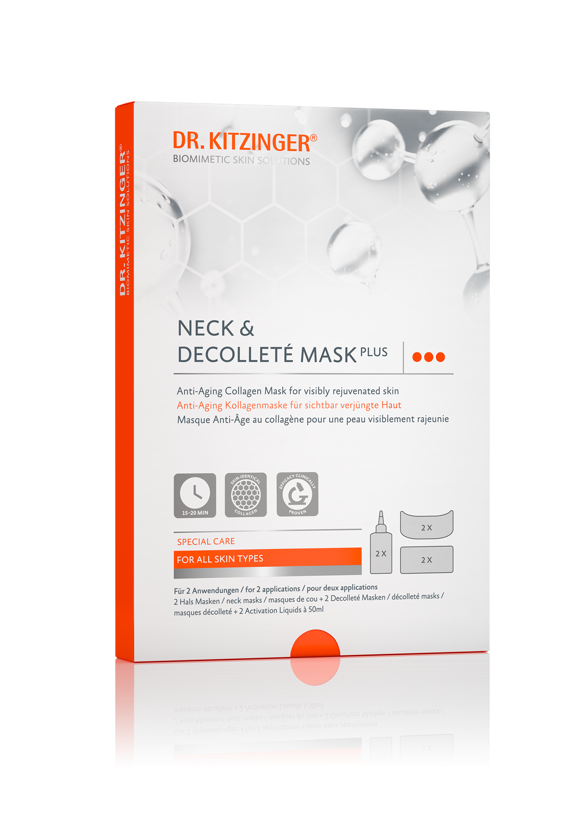 NECK & DECOLLETÉ MASK PLUS
